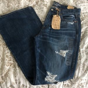 American Eagle Vintage High Rise Flare Jeans
